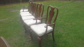 6 X dining chairs in Lakenheath, UK