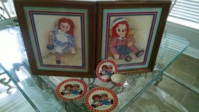 Raggedy Ann and Andy Pictures and Teaset in Byron, Georgia