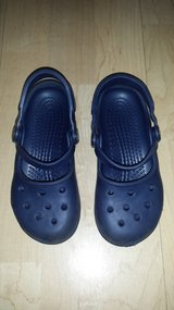 Girls Shoes Crocs Mary Janes Size 10-11 in Glendale Heights, Illinois