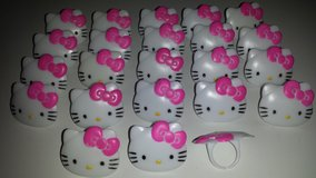 Hello Kitty Cupcake Topper Rings in Chicago, Illinois