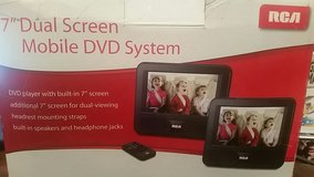 """RCA DRC69707 7"""" Dual Screen Mobile DVD System with Remote NEW in Okinawa, Japan"""