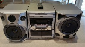 Phillips Stereo System w/3 CD changer in Lockport, Illinois