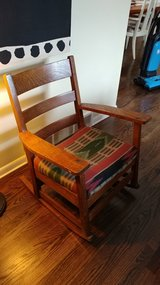 Antique mission arts & crafts Stickley Rocking Chair in Naperville, Illinois