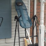Teeter Back-up inversion seat. Very good condition. Best, and most fun back therapy in Clarksville, Tennessee
