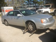 Parting Out 2001 Cadillac Deville in Camp Lejeune, North Carolina