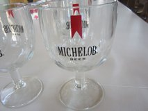 Vintage Michelob Beer Goblets in Yorkville, Illinois
