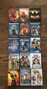 15- SUPERHERO KIDS & FAMILY DVD MOVIES in Joliet, Illinois