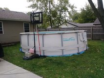 16ft round by 4ft deep pool in Bolingbrook, Illinois