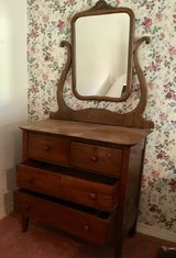 Antique dresser from New Orleans in Leesville, Louisiana