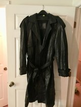 Men's trench coat in Leesville, Louisiana