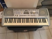 Yamaha Piano Keyboard with adapter in Ramstein, Germany
