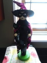 Witch Halloween nut cracker in Algonquin, Illinois