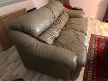 Leather Sofa in Ramstein, Germany