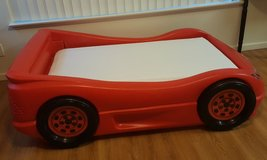 Lightning McQueen Bed with Simmons mattress in Schofield Barracks, Hawaii
