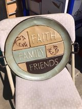 "Round Wall Decor ""Faith, Family Friends"" in Naperville, Illinois"