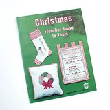 1978 CHRISTMAS CROSS STITCH Charts & Projects Bk Ornaments + in Westmont, Illinois
