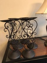 "13"" Metal Candle Holders in Naperville, Illinois"