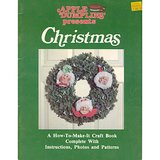 1981 Mxd Media CHRISTMAS CRAFTS Bk Soft Sculptures, Wreaths + in Westmont, Illinois
