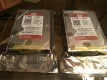 2 Brand New Hard Drives 2.0TB -SATA /64 MB WD20EFRX-$80.00 each- still in package never opened in Perry, Georgia