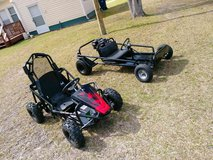 2 GO KARTS LIKE NEW (NEW MOTOR AND MORE) in Cherry Point, North Carolina