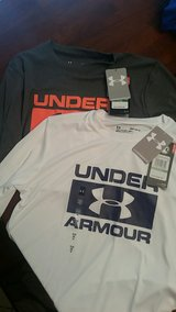 two new with tags under armor shirts in Warner Robins, Georgia