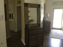 Liquor cabinet with mirror in Beaufort, South Carolina