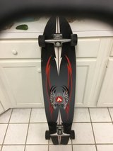 Skate long board in Eglin AFB, Florida