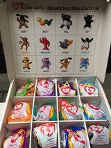 McDonald's Teenie Beanie Babies Special Edition Collector's Set-1998 in Shorewood, Illinois