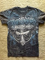 Affliction young men's shirt (sz small) in Fort Rucker, Alabama