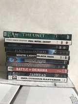 9 Military DVDs and 1 Series - $10 for all in Okinawa, Japan