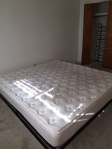 King platform bed with mattress in Alamogordo, New Mexico