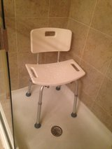 Shower Chair- adjustable in Bolingbrook, Illinois