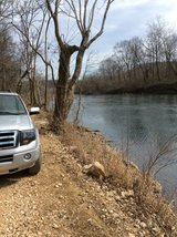 Big Piney  River front, Missouri in Fort Leonard Wood, Missouri