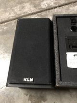 Two KLH speakers (no wiring) in Sugar Grove, Illinois