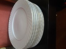 China Dish Set - White & Gold  x44 piece in Oceanside, California