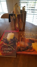Candle making supplies & 2 candles books in Fort Bragg, North Carolina
