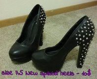 NEW spiked heels in Fort Irwin, California
