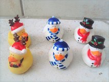 Christmas rubber ducks in Stuttgart, GE