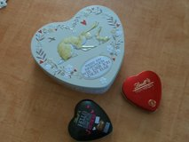 heart shaped tins in Ramstein, Germany