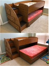 Kids Loft Bed with Side Steps in Beaufort, South Carolina