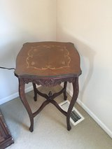 Vintage carved side table in Naperville, Illinois