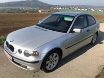 BMW 316 ti compact AC New inspection free delivery Nice Car ! in Hohenfels, Germany