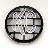 """KC HiLiTES 6"""" Stone Guard Fog Light Covers (Black with White Letters) in Stuttgart, GE"""
