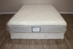 Queen Size Mattress - Sealy posturepedic Reserve Cason Bay Firm in Kingwood, Texas