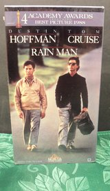 Melodrama Comedy Drama Movie RAIN MAN Dustin Hoffman Tom Cruise VHS in Orland Park, Illinois