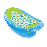 Summer Infant Sparkle 'N Splash Newborn-to-Toddler Baby Bath - Blue in Oswego, Illinois