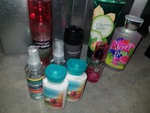 Assorted bath and body works items in Fort Campbell, Kentucky