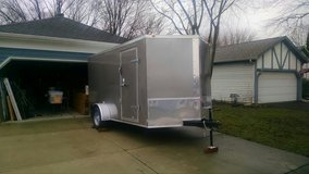 2018 V Nose Utility Trailer in Naperville, Illinois
