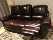 Premier Top Grain Leather Reclining Sofa in Stuttgart, GE
