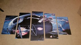 Star Wars Canvas Art 5 piece in Wheaton, Illinois